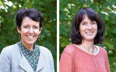 Portraits de Christine Ranc et Celine Blain