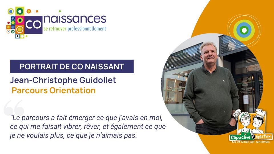 Portrait de Co Naissant : Jean-Christophe Guidollet