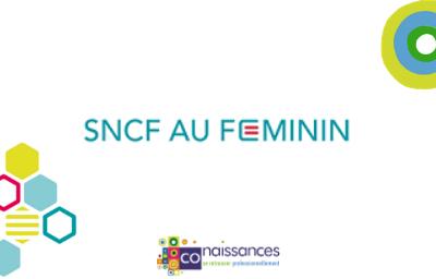 Intervention au sein du Réseau SNCF au Féminin